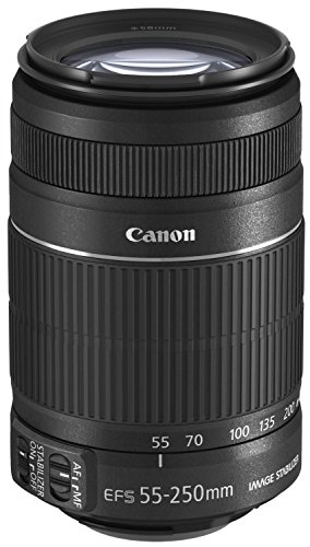 Canon EF-S 55-250mm 4,0-5,6 IS II, Obiettivo per EOS,...