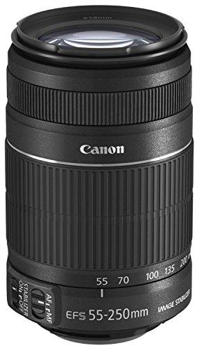 Canon EF-S 55-250mm 4,0-5,6 IS II, Obiettivo per EOS, stabilizzatore d'immagine