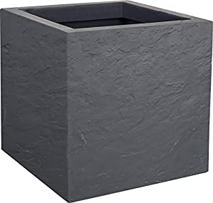 EDA Volcania Up Pot, Gris Galet, 30 cm
