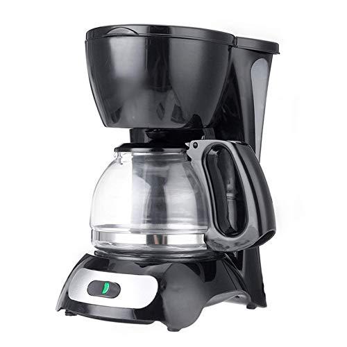 Kaffeemaschine SOCTY 600ML Kaffeemaschine 220V 4-6 Tasse Espresso Tropfen Kaffeemaschine mit Glaskocher Kaffee Pulver Filter Anti-Tropfen-Isolierung Teekanne (Farbe: Rosa) Traditionelle Kaffeemaschine