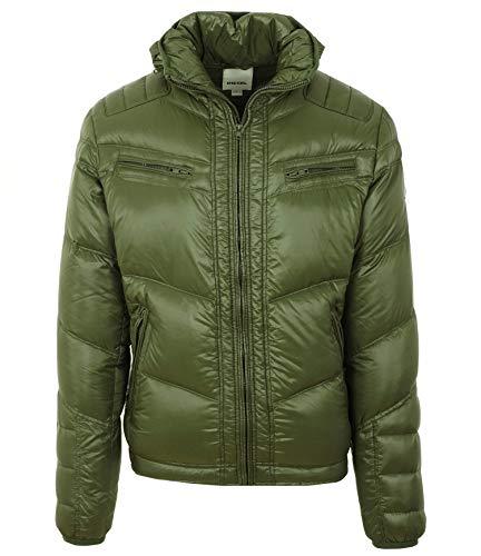 Diesel Wanton-R Herren Men Daunenjacke Jacke Jacket Grün (XL)