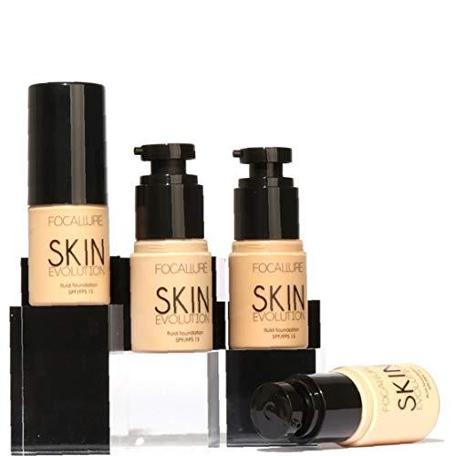 Maquillaje Ligera BB crema de aceite libre de Mate BB Crema Hidratante con Color cara larga Lating Fundación Corrector en Crema con protección solar (3) Productos de Belleza