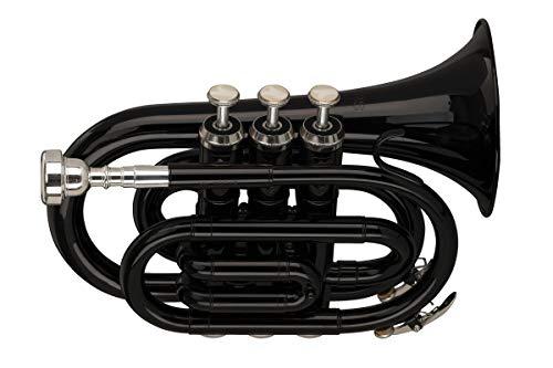 Stagg Trompete (WS-TR248S) Schwarz