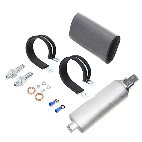 Apeixoto Fuel Pump Replacement Inline Fuel Pump 255LPH with High Pressure Replace OE Part # GSL392-400-939
