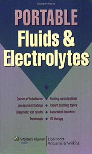 Portable Fluids & Electrolytes (Portable Series)