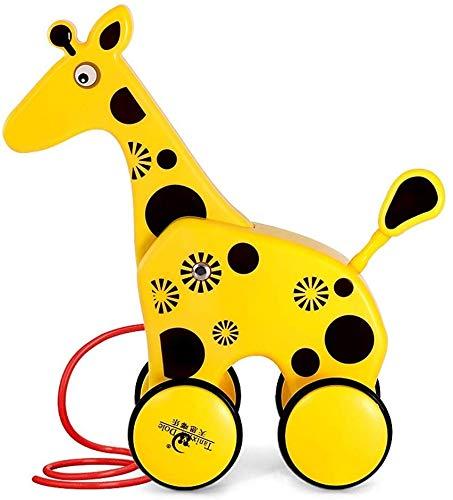 Great Deal! Ladan Trailer Toy Children Dragging Toy  Dragging Toddler Hauling Animal Baby Body...