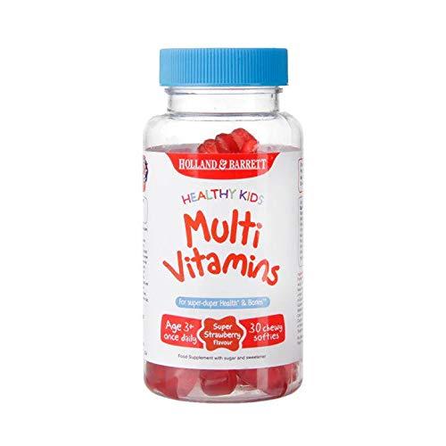 Holland & Barrett Healthy Kids Multivitamins 30 Softies Super Strawberry Flavour