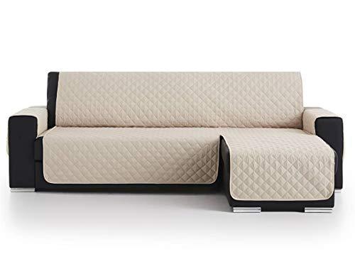 Lanovenanube - Funda Chaise Longue Acolchado - Práctica - Derecha 240 cm - Color Beig C02