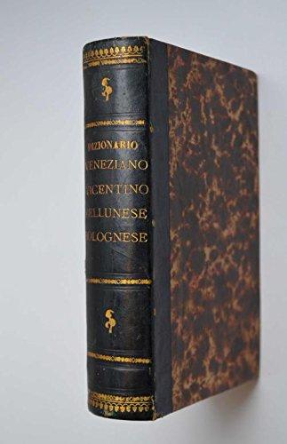 Dizionario tascabile veneziano-italiano.