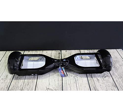 Oviboard.es Carcasa para Hoverboard - Carcasa Patinete eléctrico 6,5″ (Negra)