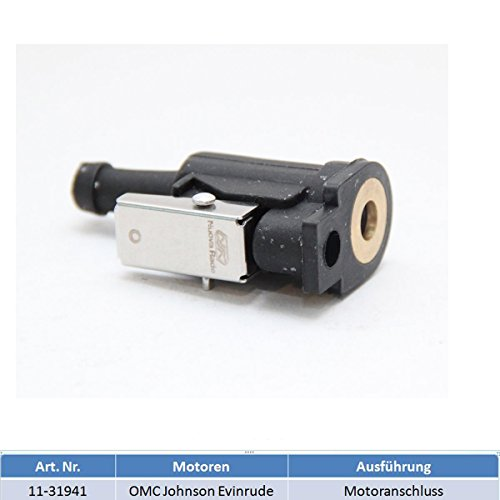 Motoranschluss Adapter Benzintank Außenborder für OMC (Johnson und Evinrude) und Honda Außenborder