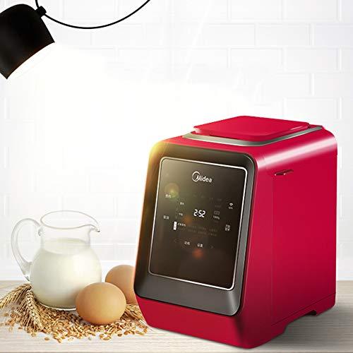 YLEI Brotbackautomat, Brotbackmaschine mit 3 Verschiedene Bräunungsgrade, 13 Stunden Timing-Funktion, Automatische Zutatenbox, für 750g oder 1000g Brote