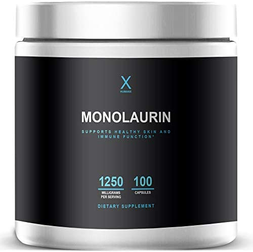 Monolaurin Supplements 1250mg Gluten Free Vegan Non GMO The Ultimate Monolaurin from Natural product image