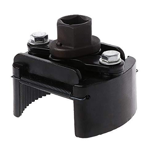 DEDC Llave del Filtro de Aceite 60-80mm Ajustable Universal Herramientas para Coche Moto