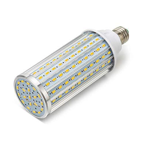 ONLT Bombillas LED, E27 45W 4450LM(Equivalente a 450W),LED Bombilla Super Brillante,para la Iluminación de Almacén, Camino, Restaurante, Hotel, Studio, Plaza(45W-Luz cálida)