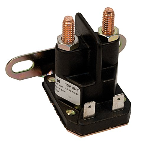 1114534 DELCO REMY SOLENOID SWITCH 4-TERMINAL 12V