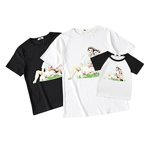 Wnamcerr Camiseta con Foto Conjunto De Camisetas Familiares Camiseta Personalizada Camiseta Estampada La Mejor Camiseta