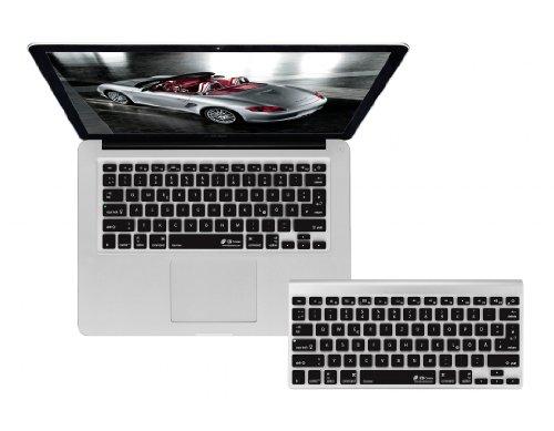 QWERTZ Abdeckung mit Layout Deutsch, für MacBook, Air, Pro, Retina und Wireless Tastatur