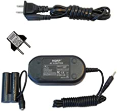 HQRP AC Adapter for Nikon EH-65A 25722 COOLPIX L620 L610 L30 L29 L28 L27 L26 L25 L24 L22 L20 L19 L18 L15 L14 L12 L11 L10 L6 L5 L4 P60 P50 Digital Camera Power Supply DC Coupler + Euro Plug Adapter