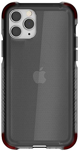 Ghostek Covert Designed for iPhone 11 Pro Max Case Clear Slim Bumper (6.5' Screen) Tough Ultra Thin Silicone Shockproof Bumper Wireless Charging Compatible 2019 Apple iPhone 11 Pro Max (6.5') - Smoke