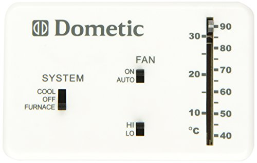 DOMETIC D3106995.032 Heat/Cool Analog Thermostat