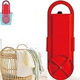 xxz Lavadora portátil práctica, Mini Lavadora semiautomática Mango Fuerte, Adecuado para una Sola Persona, Solteros, Personas del albergue, 220V