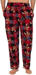 Image of Comfy Funny Lumberjack Moose Pajama Pants for Men - See More Designs