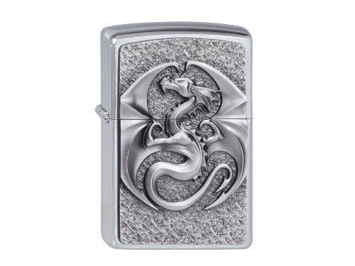 ZIPPO Feuerzeug Dragon 3D Emblem
