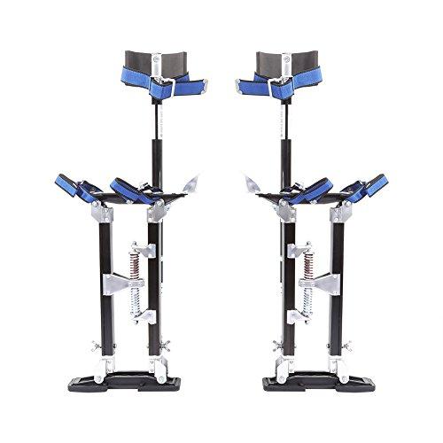 Drywall Stilt, 24-40 Inch Adjustable Heavy Duty Aluminium Plastering...