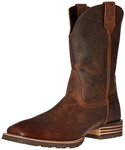 Ariat Men's Hybrid Street Side Western Cowboy Boot,Powder Brown,12 2E US