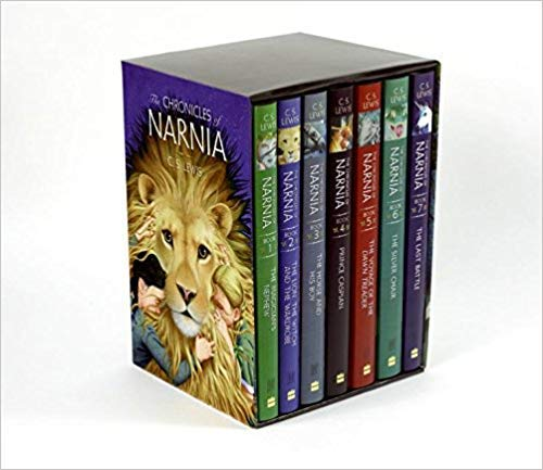 by Pauline Baynes - The Chronicles of Narnia (Box Set) (Paperback) HarperCollins Narnia; Reissue Edition (August 14, 2007) - [Bargain Books]