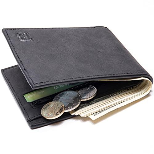 Män plånböcker Små pengar plånböcker Plånböcker män tunn plånbok med myntväska dragkedja plånbokherr plånböcker