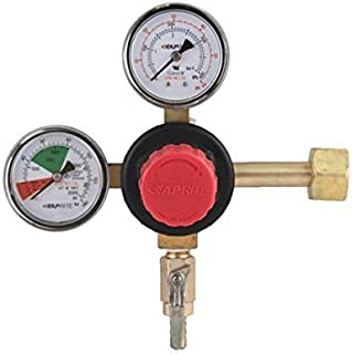 Taprite T742HP Primary Double Gauge CO2 Regulator, Brass