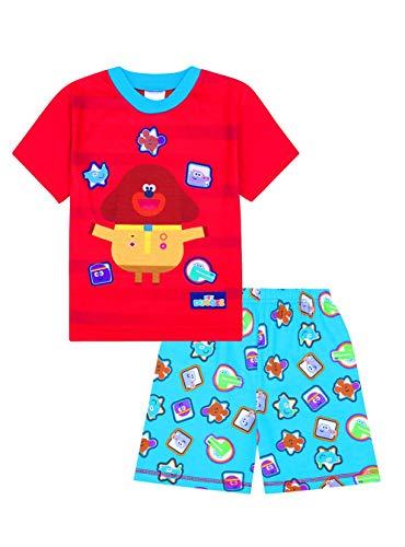 Oficial Hey Duggee Badges Short Boys Blue Pijamas