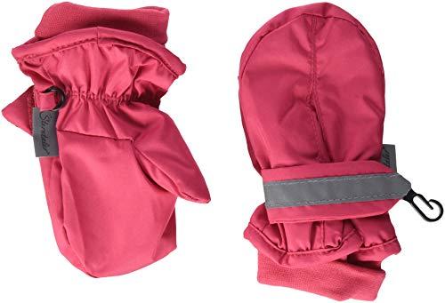 Sterntaler Sterntaler Fäustel für Baby-Mädchen, Handschuhe, Wasserabweisend und reflektierend, Alter: 2-3 Jahre, Größe: 2, Rot (Beerenrot 817)