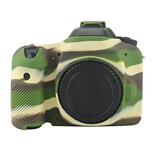 HSKB Beschermhoes voor Canon 80d Camera/Bumper Case/Beschermhoes/Shell/Antislip, Camouflage
