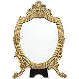 YSDS-JZ Espejo Maquillaje Maquillaje De Escritorio Espejo De Tocador Portátil para Maquillaje, Afeitado, Depilación, Cuidado Y Limpieza Facial, Etc