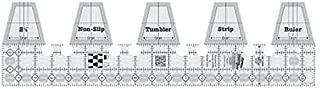 Creative Grids Tumbler Single Strip Quilting Ruler Template CGRSRTUMB