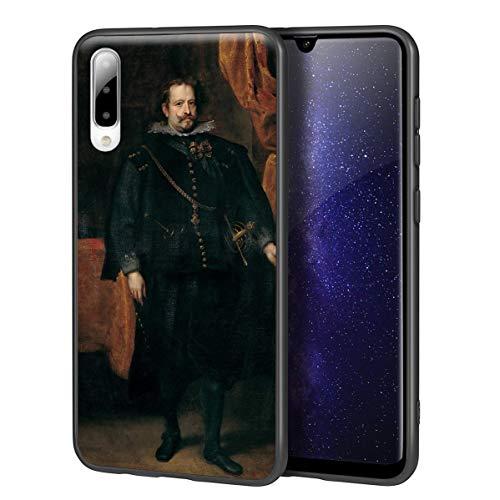 Berkin Arts Anthony Van Dyck para Samsung A50/A50S/A30S Carcasa/del teléfono Celular de Arte del teléfono Celular de Arte/Impresión Giclee en la Cubierta del móvil(Diego De Mexía Marquess of Leganes)