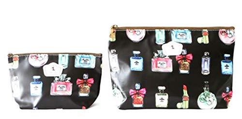 NOVAGO Lot de 2 Pochettes (Tailles différentes) Tissu Plastifié Solide Durable et imperméable (Parfum)