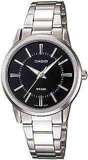 ساعة يد نسائية من كاسيو ، انالوج بعقارب ، ستانلس ستيل ، فضي ، LTP-1303D-1AV