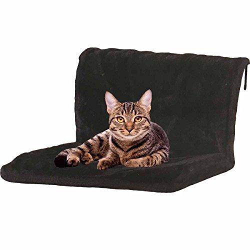 FiNeWaY@ - Cama para radiador, armazón de metal resistente y funda de forro polar. Ideal para gatos o perros pequeños