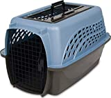 Petmate Two Door Top Load 24-Inch Pet Kennel, Pearl Ash Blue/Coffee Ground (21231)