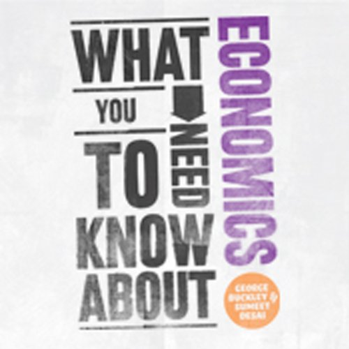 What You Need to Know About: Economics audiobook cover art