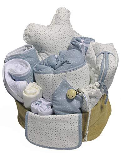 Detalling regalos solidarios Canastilla de bebé MOON SÚPER