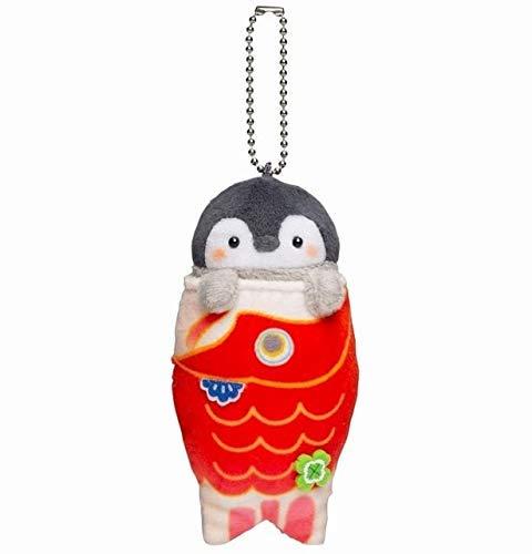 JIAL 1pc Cute Animal Penguin Plüschtiere Schöne Plüschpuppe Rucksack Anhänger für Kinder Mädchen Geschenk 10cm 2 Chongxiang (Color : 4, Size : 10cm)