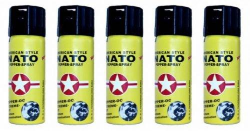 5 Stück Pfefferspray NATO