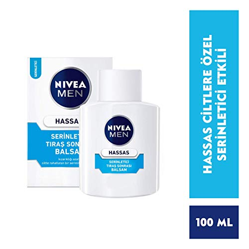 Nivea Men Sensitive Cool Aftershave Balsam, 1er Pack, 1 x 100ml