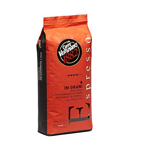 Caffè Vergnano 1882 Kaffeebohnen Espresso - 1 Packung enthält 1 Kg