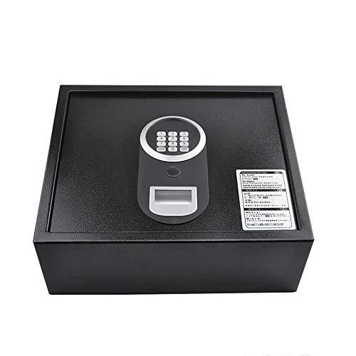 FREIHE Elektronische Kluis, Hoge Beveiliging Grote Digitale Kast Met Keypad Lock Effen Staal Voor Home Office Hotel Business Cash Sieraden Portemonnee Waardevol Geschenk, zwart